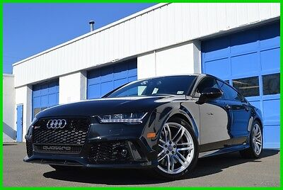 2016 Audi RS7 4.0T Prestige 2,700 Miles Absolut Dream Car Save Driver Assist Carbon-Optic Sport Exhaust Bang & Olufsen Cold Weather Packages