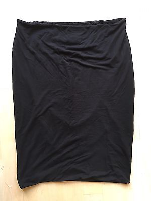 Mamas & Papas Black Maternity Pencil Skirt, Size 14
