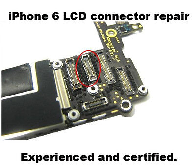 iPhone 6 LCD FPC connector Repair Micro Soldering fast shipping back to you