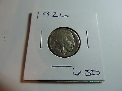 1926 US American Nickel coin A507