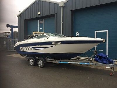 Sea Ray 220 Sports Boat  Cuddy Cabin with a Brand new Mercruiser 4.3 V6 engine