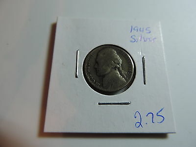 1945 US American Nickel coin A551