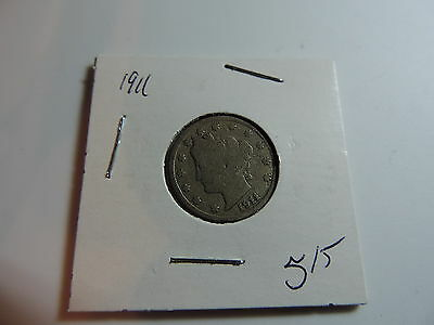1911 US American Nickel coin A475