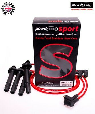 PowerTEC Sport 8mm Ignition HT Leads Cable Subaru Forester Legacy 2.5 EJ25 EJ253