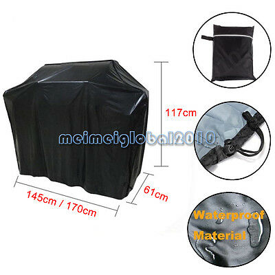 BBQ Cover Heavy Duty Extra Large Waterproof UV Protection For Barbeque Burner UK