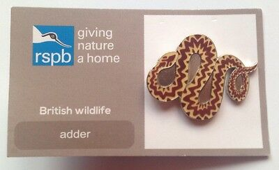 RSPB-Giving Nature A Home ADDER Pin Badge