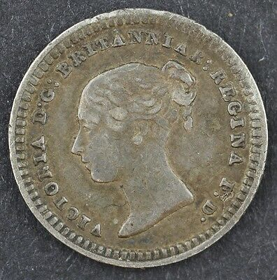 Queen Victoria Silver Threehalfpence 1839 1 1/2 D Great Britain Uk Coin