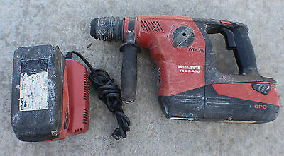 Hilti Te 30-A36 Sds Plus Cordless 36V Rotary Hammer Drill Kit With 2 Batteries