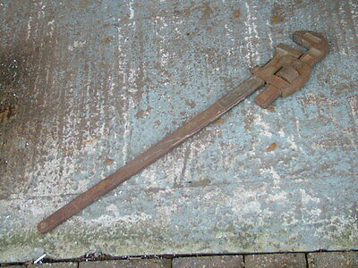 "Record 36"" Stillson Pipe Wrench, Drop Forged"