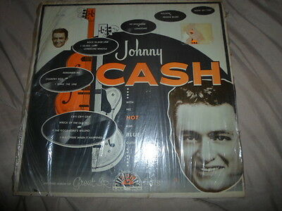 Johnny Cash with His Hot And Blue Guitar  LP-1220 Sun Records 33 1/3 RPM