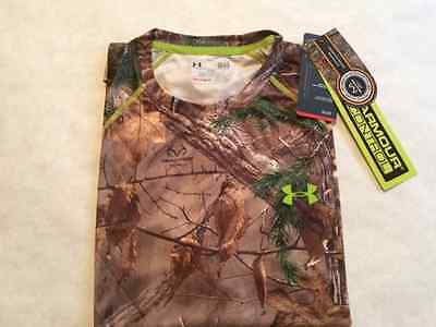 NWT Under Armour Evo Scent Control Short Sleeve Shirt Free Shipping $40 MSRP