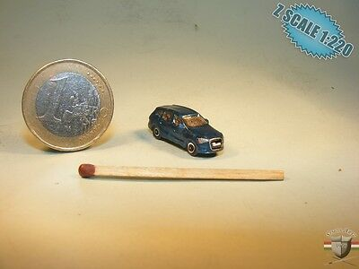 Audi Q7 Z scale 1/220 hand-painted metal model