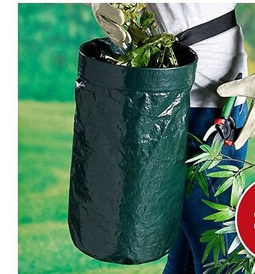 Garden Belt Waste Bag - Dragging Bags Around Bending & Only One Hand Free Gone