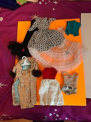 Vintage Barbie Well Used Clothes Lot TLC