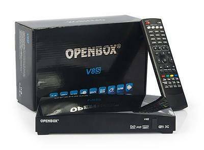 Openbox V8S Full HD Digital Freesat PRV TV Satellite Receiver Box For Skybox F5