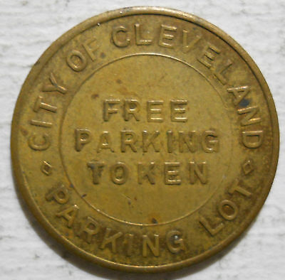 City of Cleveland Parking Lot (Ohio) parking token - OH3175I
