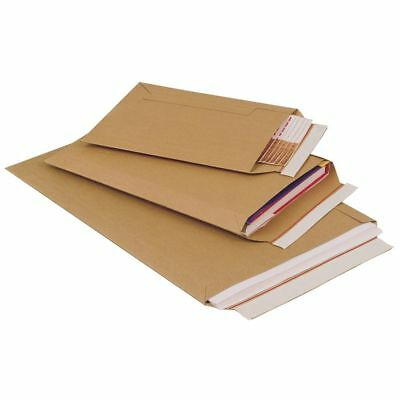 100 x A5 C5 Large Letter Corrugated Card Cardboard Envelope Mailer 198mm x 314mm