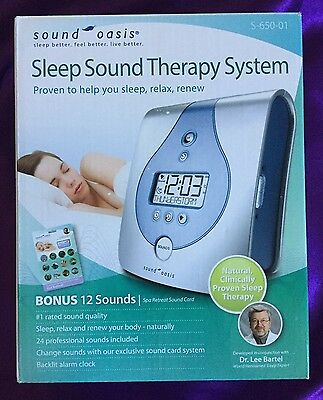 S650-01 Sound Oasis Sleep Sound Therapy System