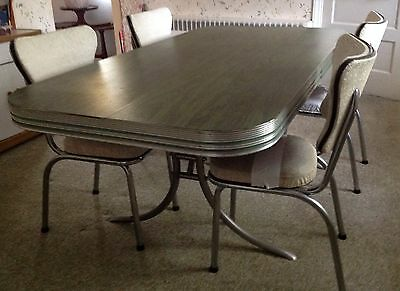 vintage kitchen table and chairs ... 1950's