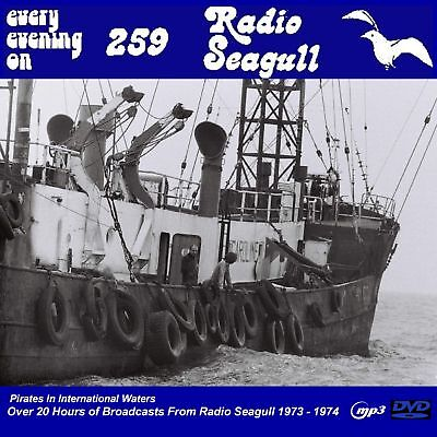 Pirate Radio Radio Seagull 73-74 Over 20hrs on DVD MP3