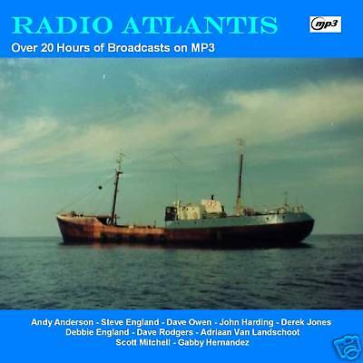 Pirate Radio - Radio Atlantis Over 21 hours  Including The FINAL DAY on MP3 DVD