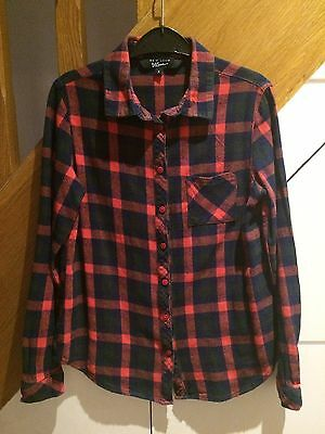 Girls Checked Shirt From New Look Age 11