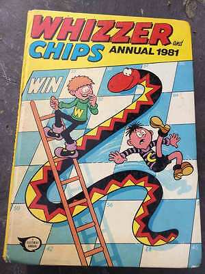 Whizzer & Chips annual 1981 VGC