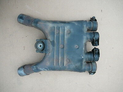 1992 Yamaha FJ1200 FJ 1200 Exhaust Collector Joint L 1986 - 1993
