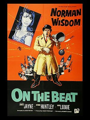 """On the Beat 16"""" x 12"""" Reproduction Movie Poster Photograph"""