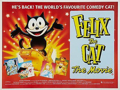 """Felix the Cat Movie 16"""" x 12"""" Reproduction Movie Poster Photograph"""