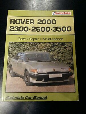 Rover SD1 2000, 2300, 2600 and 3500 V8 SE VDP Service Repair Workshop Manual