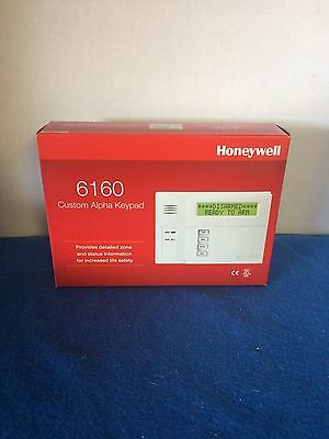 6160 Custom Alpha Keypad by Honeywell New in Box Factory Sealed