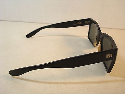Ray Ban B&L BAUSCH LOMB ARNOLD PALMER WAYFARER INVERNESS Black Sunglasses AS IS*