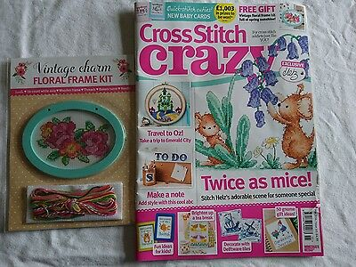 Cross Stitch Crazy magazine issue215 including Free Gift