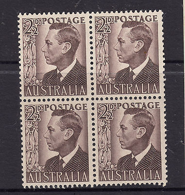 1950 21/2d George V1 Block of 4 MUH