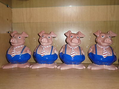 4 x WADE NAT WEST PIG MAXWELL ALL WITH NATWEST STOPPER