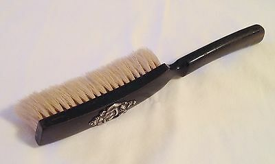 Gerts, Lumbard & Co Wood Brush With Sterling Silver Art Nouveau