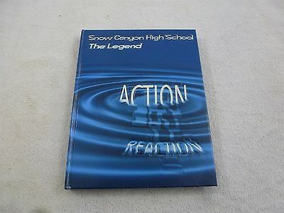 2005 Snow Canyon High School Year Book with signatures St. George Utah