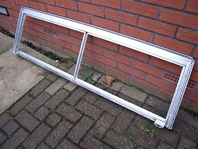 Land Rover Series 2 refurbished /galvanised windscreen frame & glass
