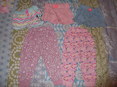 Baby girls 18-24 months clothes bundle trousers shorts TU Disney Peppa Pig