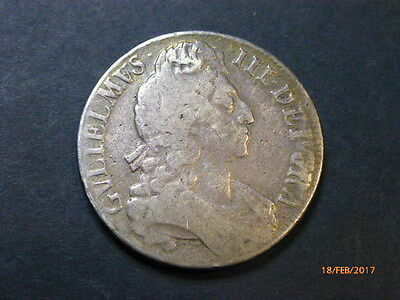 Brilliant 1696 Silver Crown In Really Good Condition Cv Us $450
