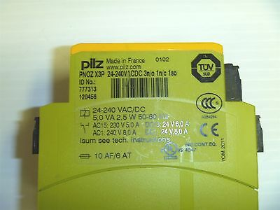 Pilz  Pnoz X3P Safety Relay