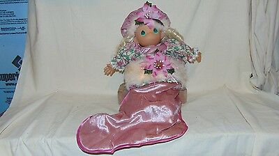 Precious Moments Christmas Doll A Christmas To Remember No. 8214
