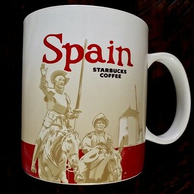 NWT Starbucks SPAIN Global Icon City Collector Series Mug AUTHENTIC with SKU