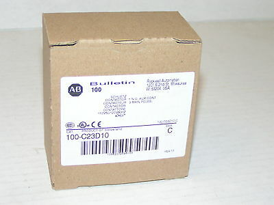 Allen Bradley 100-C23D10 Contactor New in Box