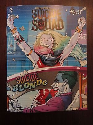 Suicide Squad SPLAT Dye Promotional Comic Harley Quinn FRENCH / ENGLISH VARIANT