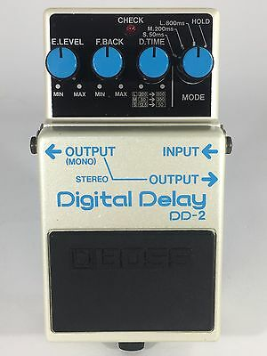 Boss DD-2 Digital Delay Vintage Guitar Effect Pedal Made in Japan