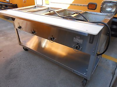 Duke Electric Steam Table/Food Warming Buffet Table Model E304 M