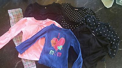 Large Lot of Long Sleeve Toddler Girl Shirts ~ Size 3T