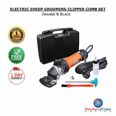 Electric Farm Animals Sheep Goat Grooming Clipper Shear Comb Livestock Shave Set